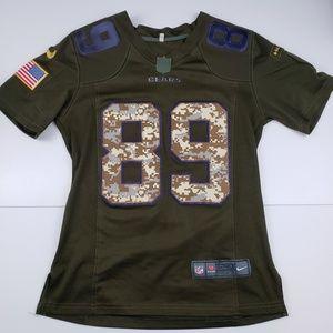 Nike Womens Bears Football Jersey Ditka Military